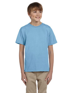 Wholesale Fruit of the Loom 3931B Youth 5 oz. HD Cotton™ T-Shirt - LIGHT BLUE