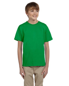 Wholesale Fruit of the Loom 3931B Youth 5 oz. HD Cotton™ T-Shirt - KELLY