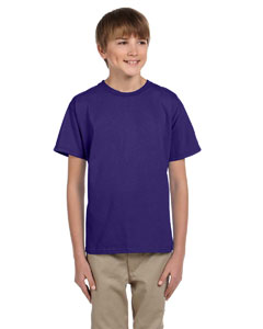 Wholesale Fruit of the Loom 3931B Youth 5 oz. HD Cotton™ T-Shirt - DEEP PURPLE