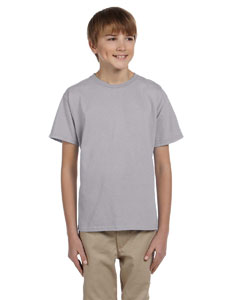 Wholesale Fruit of the Loom 3931B Youth 5 oz. HD Cotton™ T-Shirt - SILVER