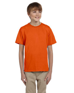Wholesale Fruit of the Loom 3931B Youth 5 oz. HD Cotton™ T-Shirt - BURNT ORANGE