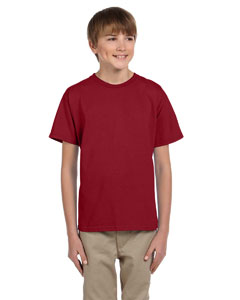 Wholesale Fruit of the Loom 3931B Youth 5 oz. HD Cotton™ T-Shirt - CRIMSON