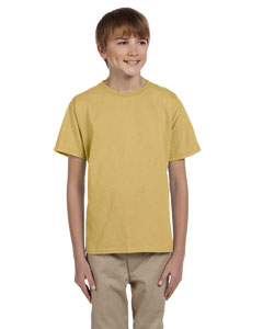 Wholesale Fruit of the Loom 3931B Youth 5 oz. HD Cotton™ T-Shirt - NEW GOLD