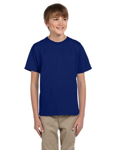 Wholesale Fruit of the Loom 3931B Youth 5 oz. HD Cotton™ T-Shirt - ADMIRAL BLUE