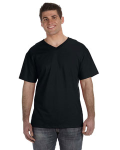39VR Adult 5 oz. HD Cotton™ V-Neck T-Shirt
