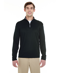 4102 Men's Lightweight Long-Sleeve Quarter-Zip Performance Pullover