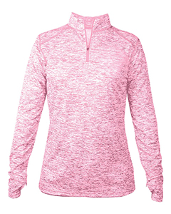 4193 Ladies' Blend 1/4-Zip Pullover