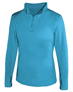 4286 Ladies' Lightweight Quarter-Zip Performance Pullover