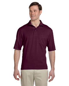 436P Adult 5.6 oz., SpotShield™ Pocket Jersey Polo