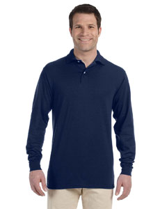 437ML Adult 5.6 oz., SpotShield™ Long-Sleeve Jersey Polo