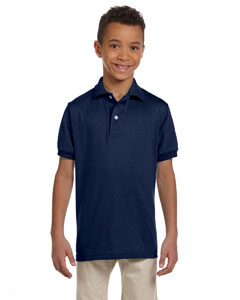 437Y Youth 5.6 oz., SpotShield™ Jersey Polo