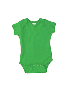 Wholesale Rabbit Skins 4400 Infant Baby Rib Bodysuit - APPLE