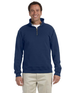 4528 Adult 9.5 oz., Super Sweats® NuBlend® Fleece Quarter-Zip Pullover
