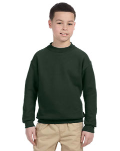 4662B Youth 9.5 oz., Super Sweats® NuBlend® Fleece Crew