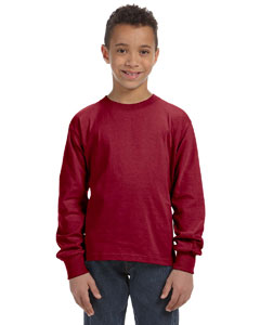 4930B Youth 5 oz. HD Cotton™ Long-Sleeve T-Shirt