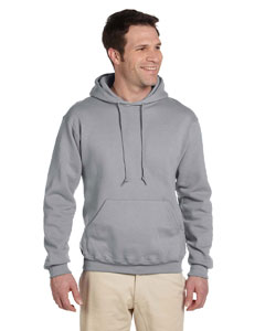 4997 Adult 9.5 oz., Super Sweats® NuBlend® Fleece Pullover Hood