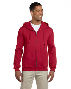 4999 Adult 9.5 oz., Super Sweats® NuBlend® Fleece Full-Zip Hood