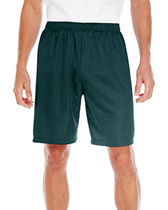 5109 Adult 100% Polyester Mesh Tricot Nine Inch Inseam Short