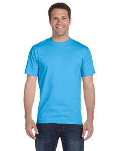 Wholesale Hanes 5180 6.1 oz. Beefy-T® - AQUATIC BLUE