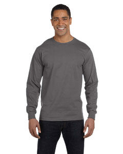 5186 6.1 oz. Long-Sleeve Beefy-T®