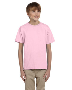 Wholesale Hanes 5370 Youth 5.2 oz., 50/50 EcoSmart® T-Shirt - PALE PINK