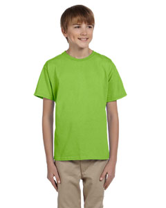 Wholesale Hanes 5370 Youth 5.2 oz., 50/50 EcoSmart® T-Shirt - LIME