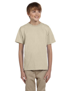 Wholesale Hanes 5370 Youth 5.2 oz., 50/50 EcoSmart® T-Shirt - SAND