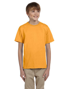 Wholesale Hanes 5370 Youth 5.2 oz., 50/50 EcoSmart® T-Shirt - GOLD