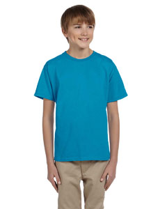 Wholesale Hanes 5370 Youth 5.2 oz., 50/50 EcoSmart® T-Shirt - TEAL