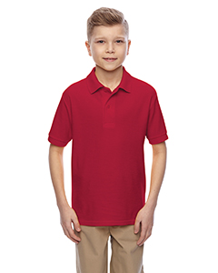 537YR Youth 5.3 oz., Easy-Care™ Polo