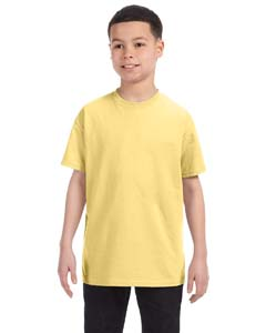 Wholesale Hanes 54500 Youth 6.1 oz. Tagless® T-Shirt - DAFFODIL YELLOW