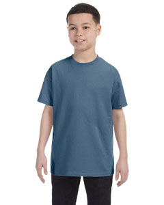 Wholesale Hanes 54500 Youth 6.1 oz. Tagless® T-Shirt - DENIM BLUE