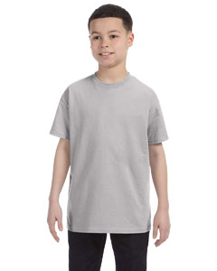 Wholesale Hanes 54500 Youth 6.1 oz. Tagless® T-Shirt - LIGHT STEEL