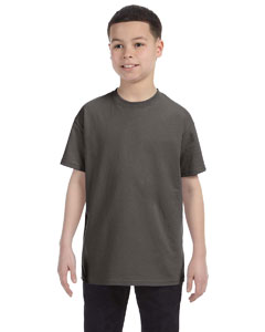Wholesale Hanes 54500 Youth 6.1 oz. Tagless® T-Shirt - SMOKE GRAY