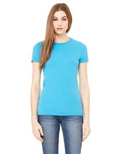 Wholesale Bella + Canvas 6004 Ladies' The Favorite T-Shirt - AQUA