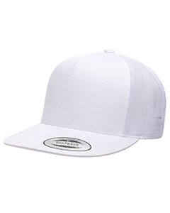 6006 Adult 5 -Panel Classic Trucker Cap