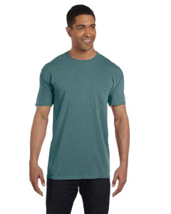 6030CC Adult 6.1 oz. Pocket T-Shirt