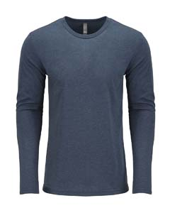 6071 Men's Triblend Long-Sleeve Crew