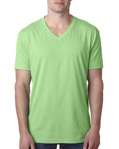 Wholesale Next Level 6240 Men's CVC V - APPLE GREEN