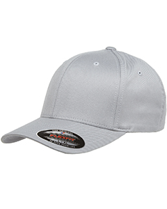 Wholesale Flexfit 6277 Adult Wooly 6-Panel Cap - SILVER