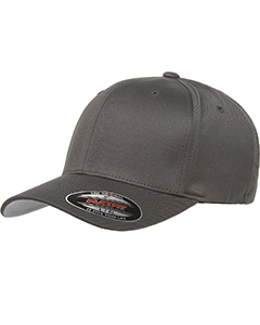 Wholesale Flexfit 6277 Adult Wooly 6-Panel Cap - DARK GREY