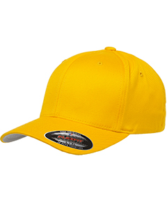 Wholesale Flexfit 6277 Adult Wooly 6-Panel Cap - GOLD