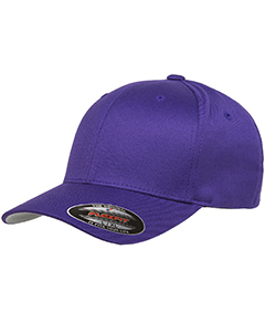 Wholesale Flexfit 6277 Adult Wooly 6-Panel Cap - PURPLE