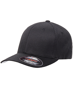 Wholesale Flexfit 6277Y Youth Wooly 6-Panel Cap - BLACK