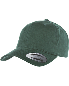 6363V Adult Brushed Cotton Twill Mid-Profile Cap