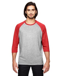 6755 Triblend 3/4-Sleeve Raglan T-Shirt