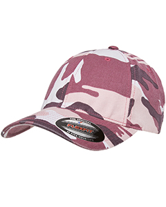 6977CA Adult Cotton Camouflage Cap