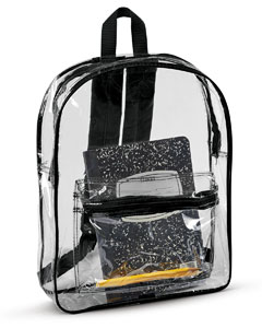 7010 Clear Backpack