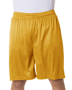 7209 Adult Nine Inch Inseam Mesh/Tricot Short