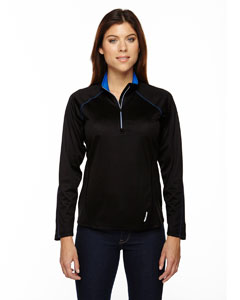 78187 Ladies' Radar Quarter-Zip Performance Long-Sleeve Top